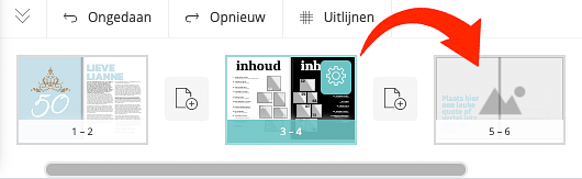 Myglossy.nl_maak je eigen magazine_8 tips pagina's verslepen